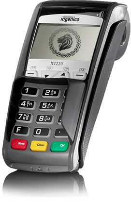 ingenico ict220 debit machine
